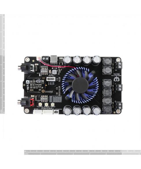 2 x 100W + 200W 2.1 Channels Bluetooth Audio Amplifier Board - TSA7500B(Apt-X)